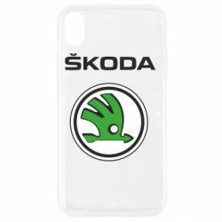 Чехол для iPhone XR Skoda