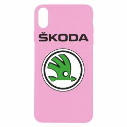 Чехол для iPhone Xs Max Skoda