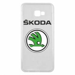 Чехол для Samsung J4 Plus 2018 Skoda