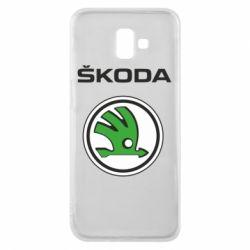 Чехол для Samsung J6 Plus 2018 Skoda