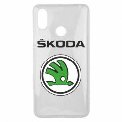 Чехол для Xiaomi Mi Max 3 Skoda
