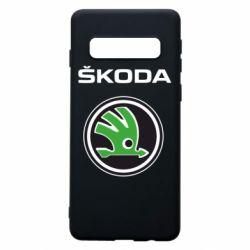 Чехол для Samsung S10 Skoda