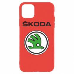 Чехол для iPhone 11 Skoda