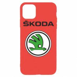 Чехол для iPhone 11 Pro Skoda