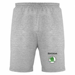 Мужские шорты Skoda - FatLine