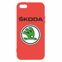 Чехол для iPhone5/5S/SE Skoda