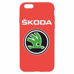 Чехол для iPhone 6/6S Skoda