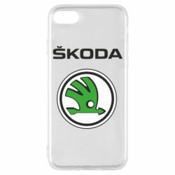 Чехол для iPhone 7 Skoda