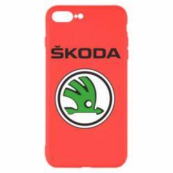 Чехол для iPhone 7 Plus Skoda