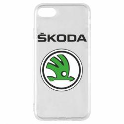 Чехол для iPhone 8 Skoda