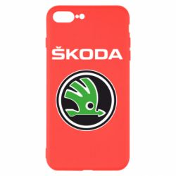 Чохол для iPhone 8 Plus Skoda