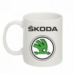 Кружка 320ml Skoda - FatLine