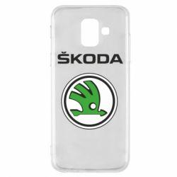 Чехол для Samsung A6 2018 Skoda