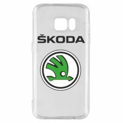 Чехол для Samsung S7 Skoda