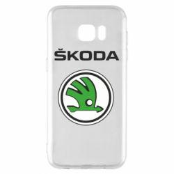 Чехол для Samsung S7 EDGE Skoda