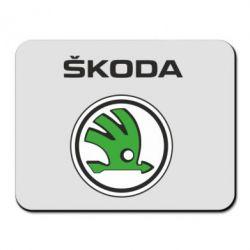Коврик для мыши Skoda - FatLine