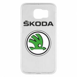 Чехол для Samsung S6 Skoda