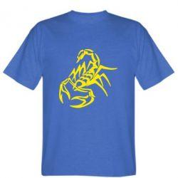 Мужская футболка 2 скорпіон - FatLine