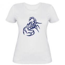 Жіноча футболка 2 скорпіон - FatLine