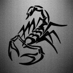 Наклейка 2 скорпіон