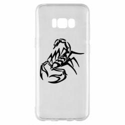 Чохол для Samsung S8+ 2 скорпіон