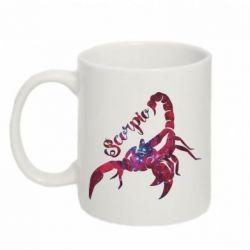 Кружка 320ml Скорпион звезды