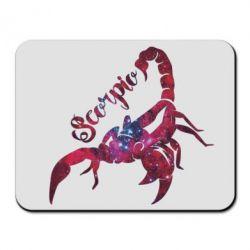 Коврик для мыши Скорпион звезды