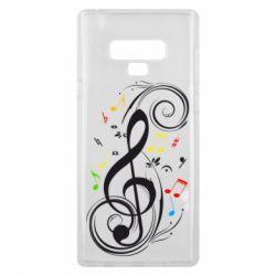 Чехол для Samsung Note 9 Скрипичный ключ