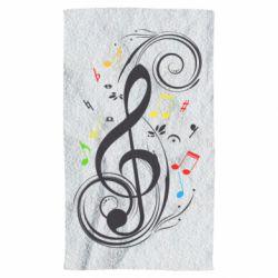 Полотенце Скрипичный ключ
