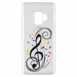 Чехол для Samsung S9 Скрипичный ключ