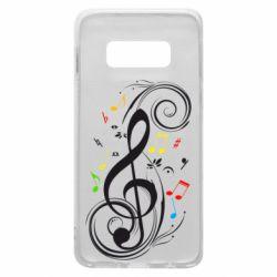 Чехол для Samsung S10e Скрипичный ключ