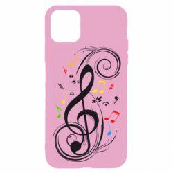Чехол для iPhone 11 Pro Скрипичный ключ
