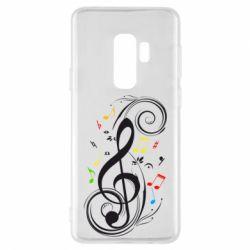 Чехол для Samsung S9+ Скрипичный ключ