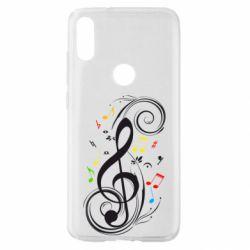 Чехол для Xiaomi Mi Play Скрипичный ключ