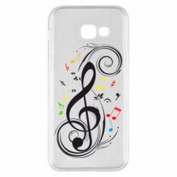 Чехол для Samsung A5 2017 Скрипичный ключ