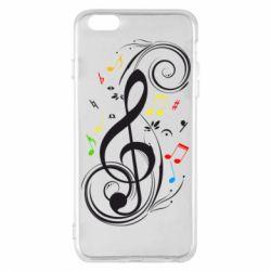 Чехол для iPhone 6 Plus/6S Plus Скрипичный ключ