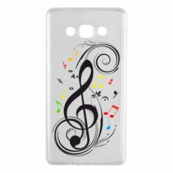 Чехол для Samsung A7 2015 Скрипичный ключ