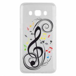 Чехол для Samsung J5 2016 Скрипичный ключ