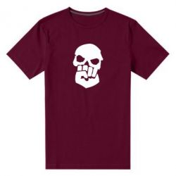 Мужская стрейчевая футболка Skull and Fist
