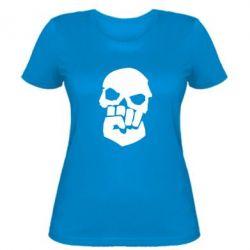 Женская футболка Skull and Fist