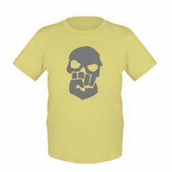 Детская футболка Skull and Fist