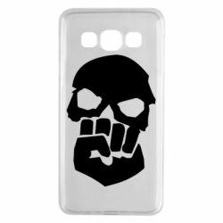 Чехол для Samsung A3 2015 Skull and Fist
