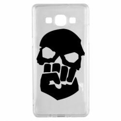 Чехол для Samsung A5 2015 Skull and Fist
