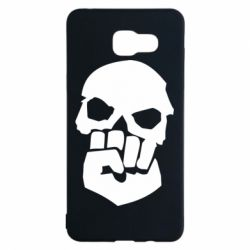 Чехол для Samsung A5 2016 Skull and Fist