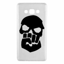 Чехол для Samsung A7 2015 Skull and Fist