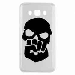 Чехол для Samsung J5 2016 Skull and Fist