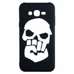 Чехол для Samsung J7 2015 Skull and Fist
