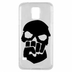 Чехол для Samsung S5 Skull and Fist