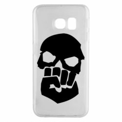 Чехол для Samsung S6 EDGE Skull and Fist