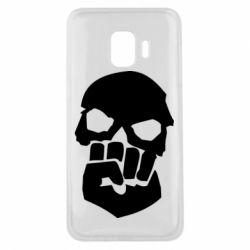 Чехол для Samsung J2 Core Skull and Fist